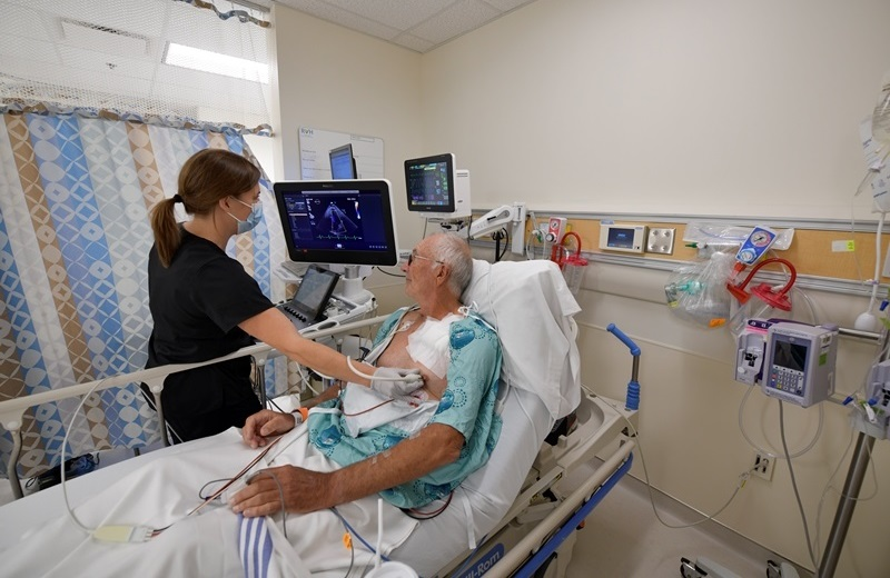 L'HGBG forme un partenariat avec RVH pour offrir des services d'échocardiographie à la communauté