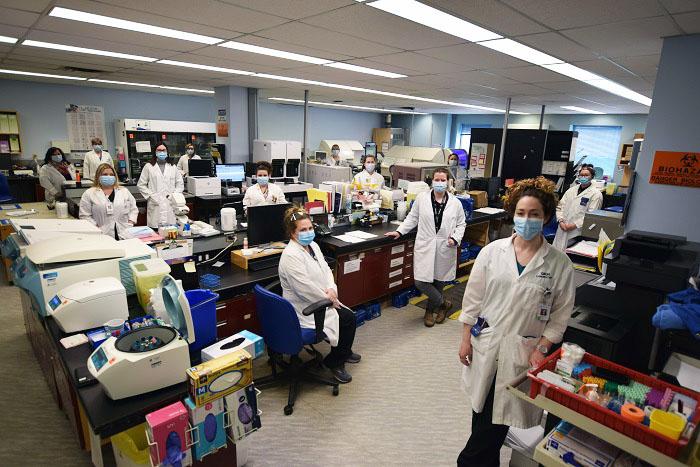 Le laboratoire de l'HGBG reçoit une note de performance exceptionnelle
