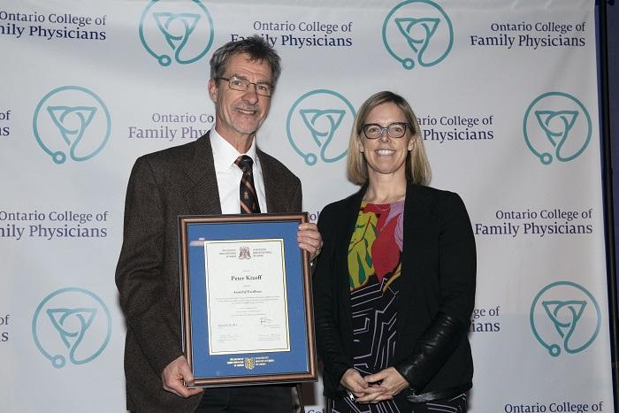 Un médecin de l'HGBG est récipiendaire d'un prix prestigieux