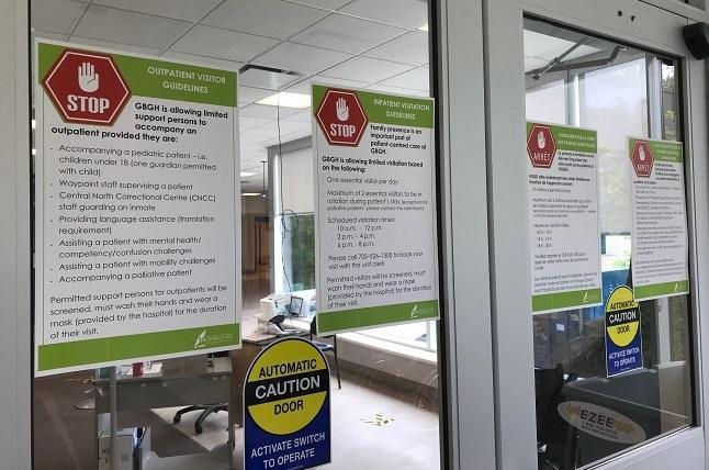 HGBG permet des visites sécuritaires et limitées pour améliorer l'expérience du patient