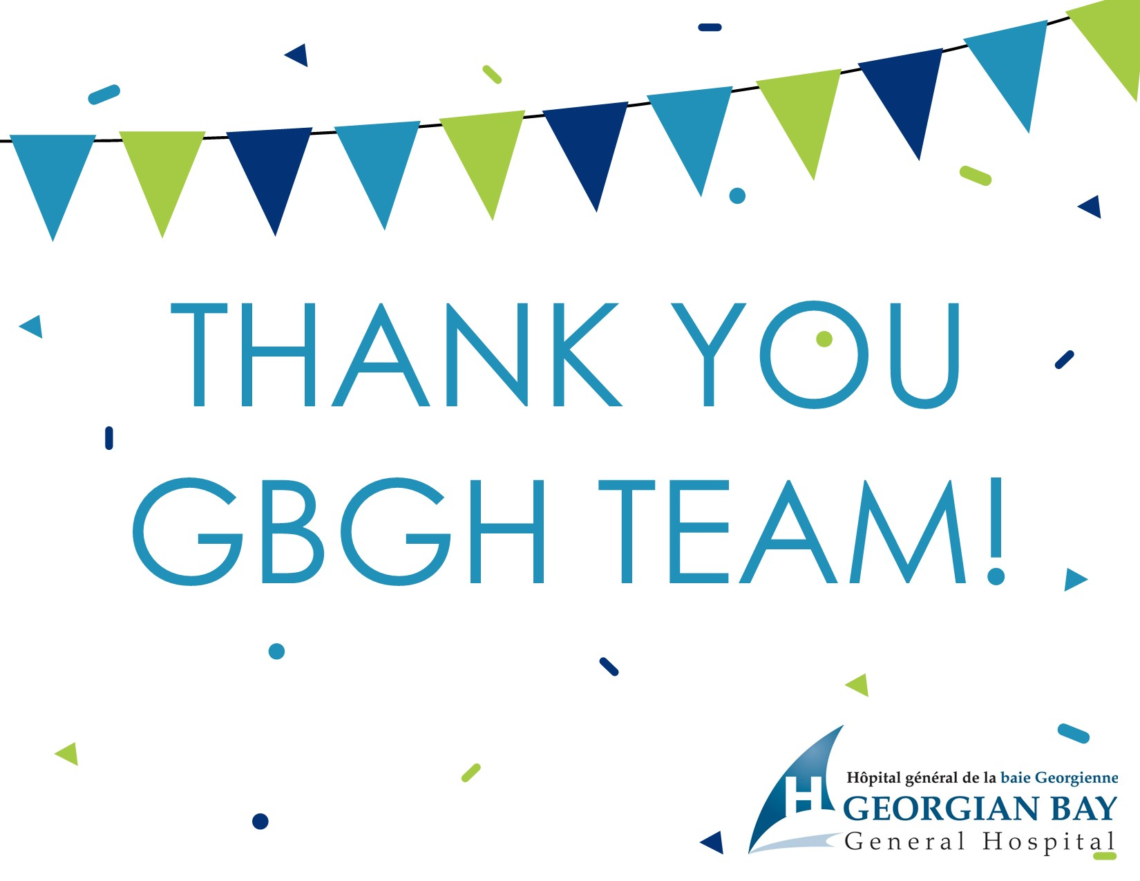 Community messages for GBGH Team Appreciation Week