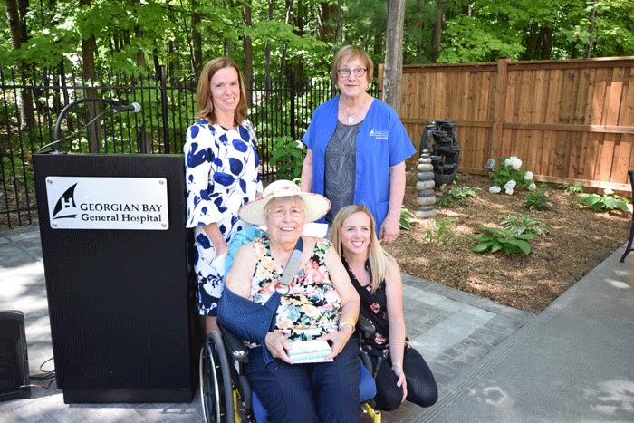 GBGH celebrates therapeutic garden opening