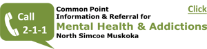 2-1-1 Common Point Information and Referral for Mental Health and Addiction